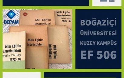 Politik Perşembe: Cumhuriyetin Kuruluşundan Günümüze Türkiye Eğitim İstatistikleri Veri Bankası