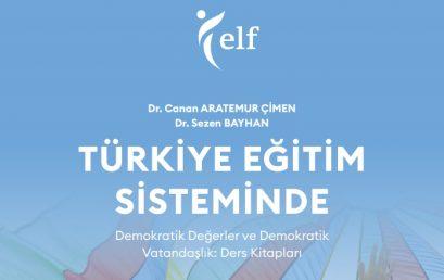 Türkiye Eğitim Sisteminde Demokratik Değerler ve Demokratik Vatandaşlık: Ders Kitapları Raporu