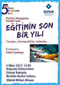 Politik Perşembe: Eğitimin Son Bir Yılı