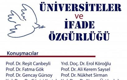 """PolitikPerşembe: """"Üniversiteler ve İfade Özgürlüğü"""""""